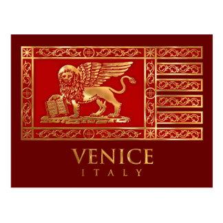 Venetian Flag Postcard