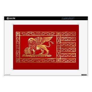 """Venetian Flag Skin For 15"""" Laptop"""