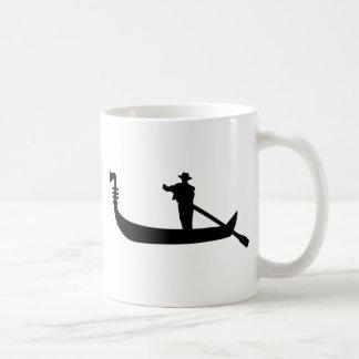 venetian gondola coffee mug