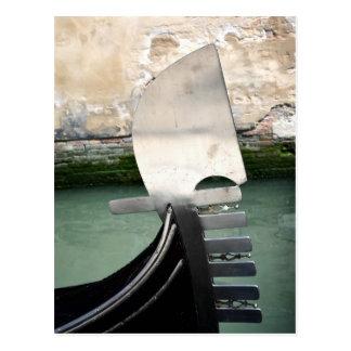 Venetian Gondola Postcard
