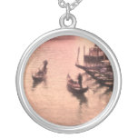 Venetian Gondolas. Dreamy Mode.Necklace