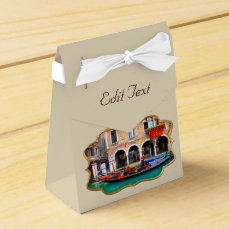 Venetian Gondolas Favor Box