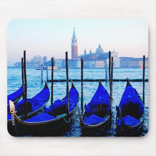 Venetian Gondolas Mouse Pad