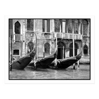 Venetian Gondolas Postcard