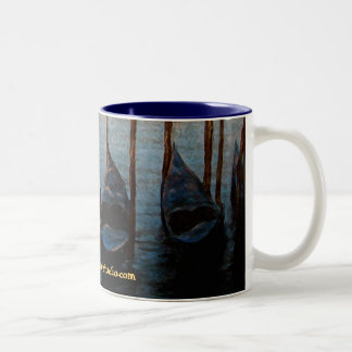 Venetian Gondole Two-Tone Coffee Mug