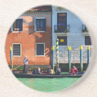 Venetian gondolier coaster