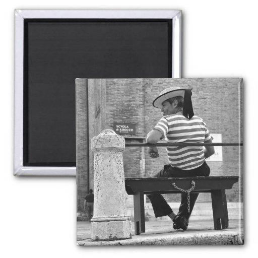 Venetian Gondolier Magnet