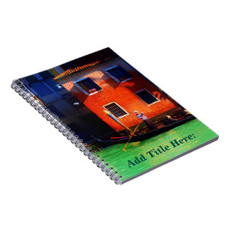 Venetian Gondolier Notebook