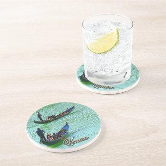 Venetian gondoliers drink coaster