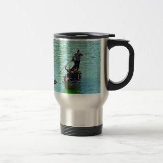 Venetian gondoliers travel mug