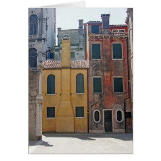 Venetian Homes Greeting Card