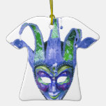 Venetian Jester Carnival Mask Ornament