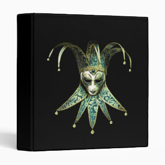 Venetian Joker Mask Binder