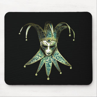Venetian Joker Mask Mouse Pad