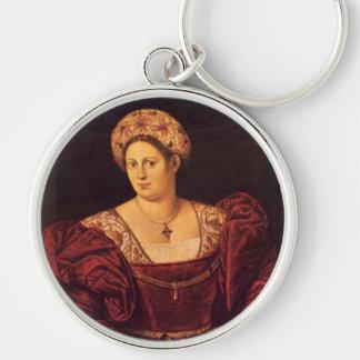Venetian Lady Key Chain