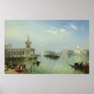 Venetian Lagoon Poster