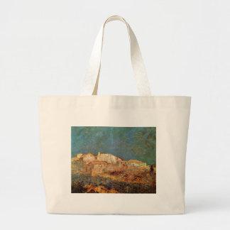 Venetian Landscape by Odilon Redon Jumbo Tote Bag