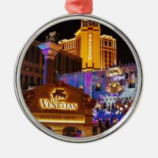 Venetian Las Vegas Decorative Evening Lights Metal Ornament