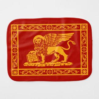 Venetian Lion Burp Cloth