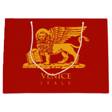 Venetian Lion Large Gift Bag