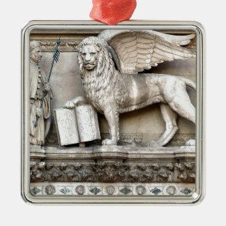 Venetian Lion Christmas Tree Ornaments