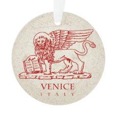 Venetian Lion Ornament