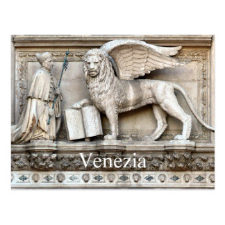 Venetian Lion Postcard
