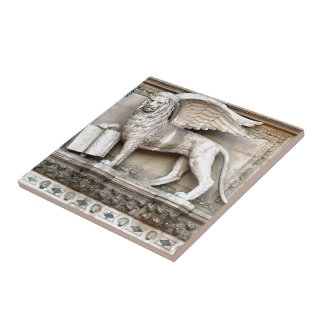 Venetian Lion Tile