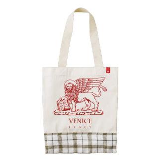 Venetian Lion Zazzle HEART Tote Bag