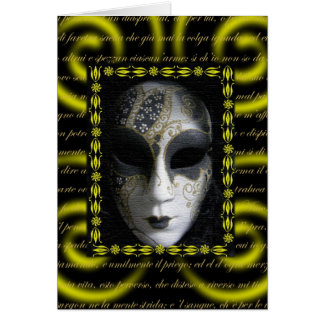 Venetian Mask 3 Cards