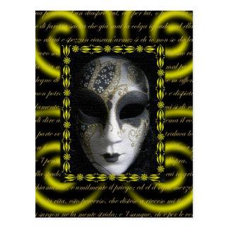Venetian Mask 3 Postcard