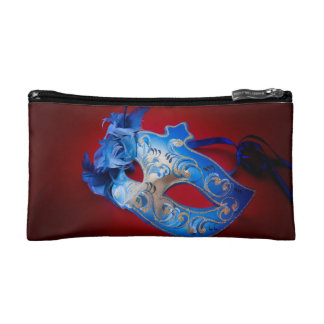 Venetian Mask Cosmetic Bag