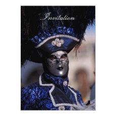 Venetian Mask Invitation