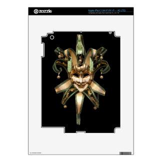 Venetian mask iPad 3 skin