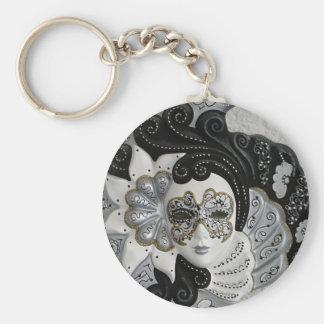 Venetian Mask Keychains