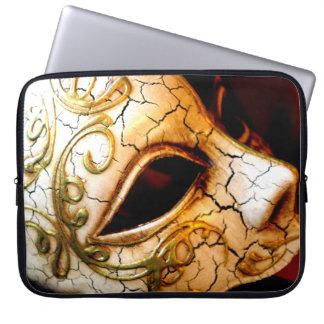 Venetian Mask Laptop Sleeve