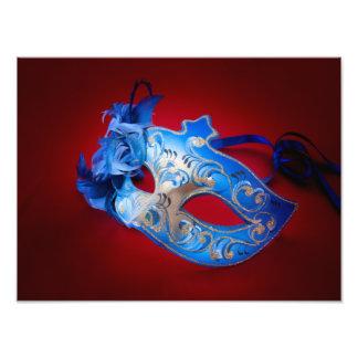 Venetian Mask Photo Print