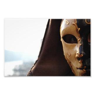 Venetian Mask Art Photo