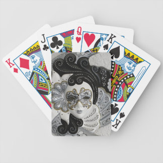 Venetian Mask Bicycle Playing Cards