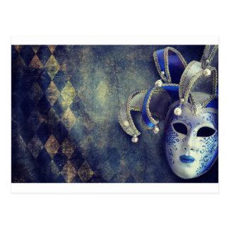 Venetian Mask Postcard