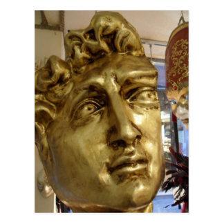 Venetian Mask Shop Michael Angelo's David Postcard