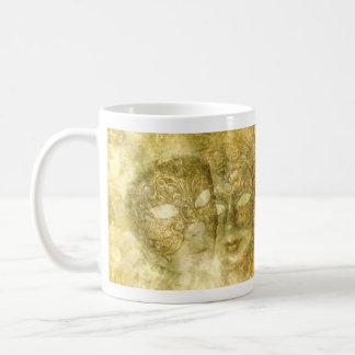 Venetian Masks Basic White Mug