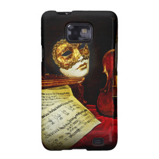 Venetian Masks collection - Musical night Galaxy S2 Case