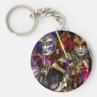 Venetian Masks Keychain