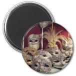 Venetian Masks Magnets