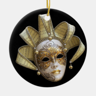 Venetian Masks Ornament