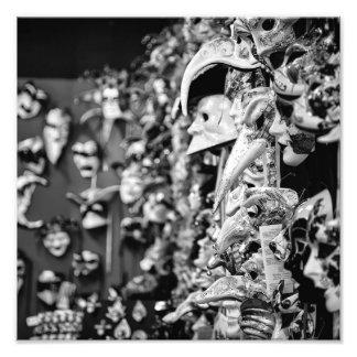 Venetian Masks - Photo Print - All sizes available