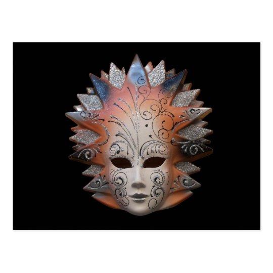 Venetian Masks Postcard