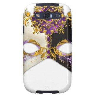 Venetian Masque: Amethyst Purple Jewel Samsung Galaxy S3 Cover