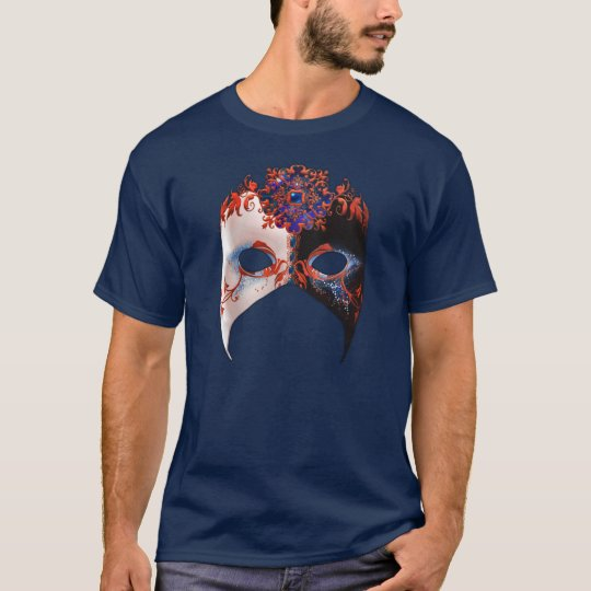 Venetian Masque: Carnival Jewel Dark T-Shirt